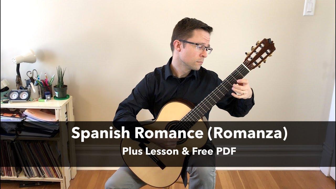 Spanish Romance (Romanza) - Free Sheet Music or Tab PDF for