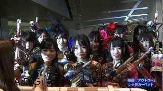 アイドルグループ「スチームガールズ」のメンバーが1月9日、東京京都内...