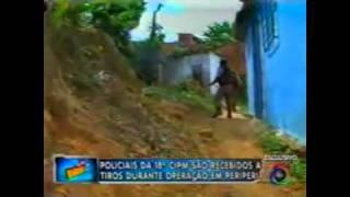 Policiais da 18ª CIPM são recebidos a tiros - Se Liga Bocão