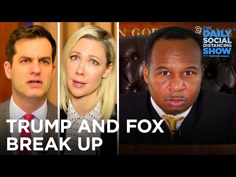 Trump v. Fox News: The Divorce Trial of the Century | The Daily Social Distancing Show