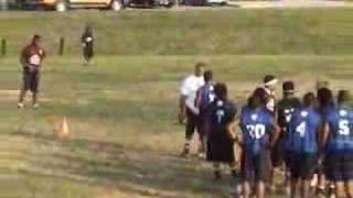 1on1 RB vs. LB Football Maryland HSPD