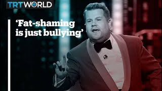 James Corden slams Bill Maher for fat-shaming comments