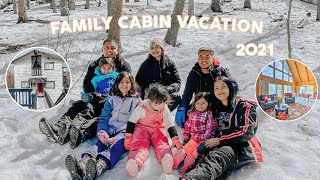 FAMILY CABIN TRIP TO THE SNOW   LAKE ARROWHEAD CABINS