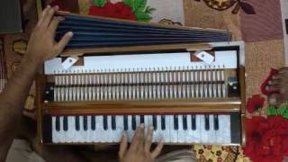Gulabi aankhen jo teri dekhi instrumental by Harmonium |||