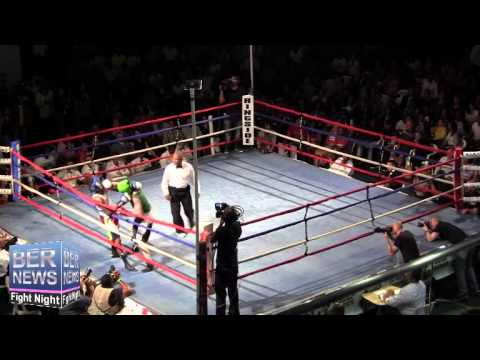 Nick Hoover vs Andre Lambe At Fight Night, April 5 2014