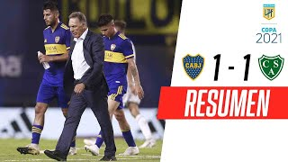 SIGUE SIN GANAR EN LA BOMBONERA | Boca 1-1 Sarmiento | RESUMEN