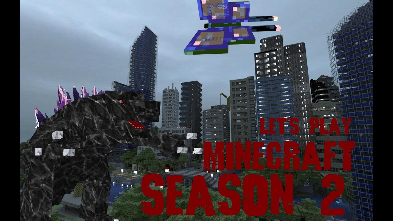 Let's Play Minecraft Season 2: Episode 5 How To Train Your Dragon With  Portals