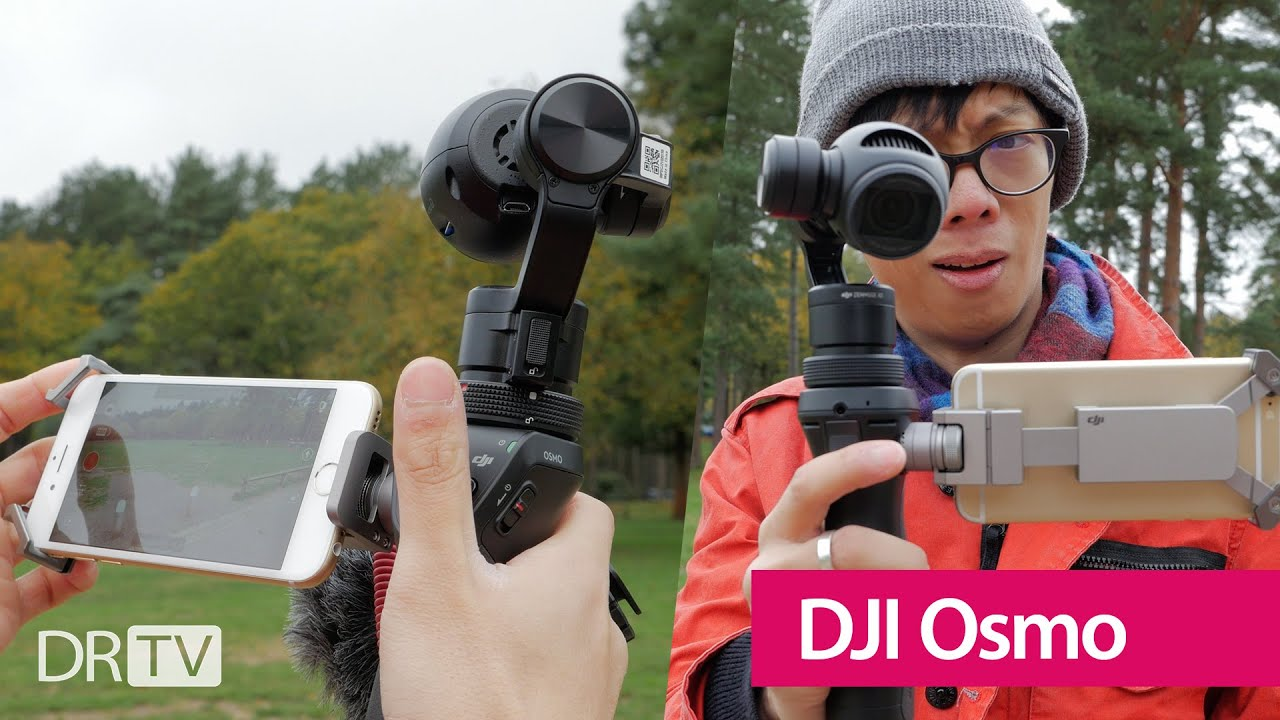 Dji Osmo Hands On Review 4k Youtube
