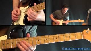 Sweet Home Alabama Guitar Lesson Pt.2 - Lynyrd Skynyrd - First Solo