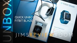 Fitbit Blaze - Quick UNBOX & Overview