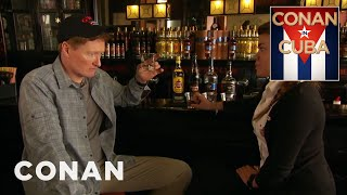 Conan learns the rich history of Cuban rum before tasting a flight of Havana Club's best with his guide Gretel. More CONAN @ http://teamcoco.com/video Team ...