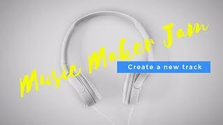 Музыкальный конструктор MusicMakerJam (Android)