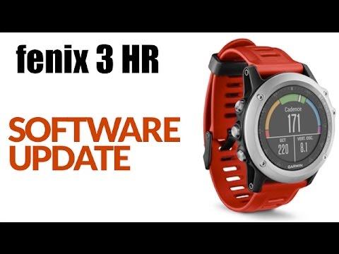 How To Install Software Update (firmware) On The Garmin Fenix 3 HR Using Garmin Express