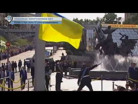 Ukraine Independence Day Run: Crowds of Kyiv residents participate in patriotic race to celebrate from YouTube · Duration:  1 minutes 51 seconds