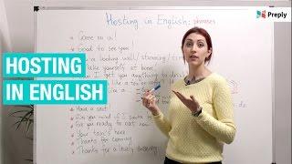 Принимаем гостей на английском: актуальные фразы.