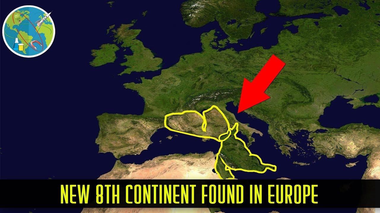 Bukan Atlantis, Ilmuwan Rekonstruksi Satu Benua Hilang yang Tersembunyi di Bawah Eropa