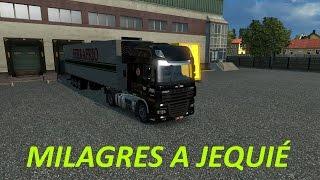 MILAGRES A JEQUIÉ - MAPA EAA - DAF XF - ETS2