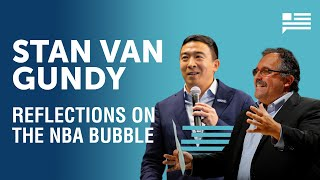 Stan Van Gundy reflects on life inside the NBA bubble | Andrew Yang | Yang Speaks