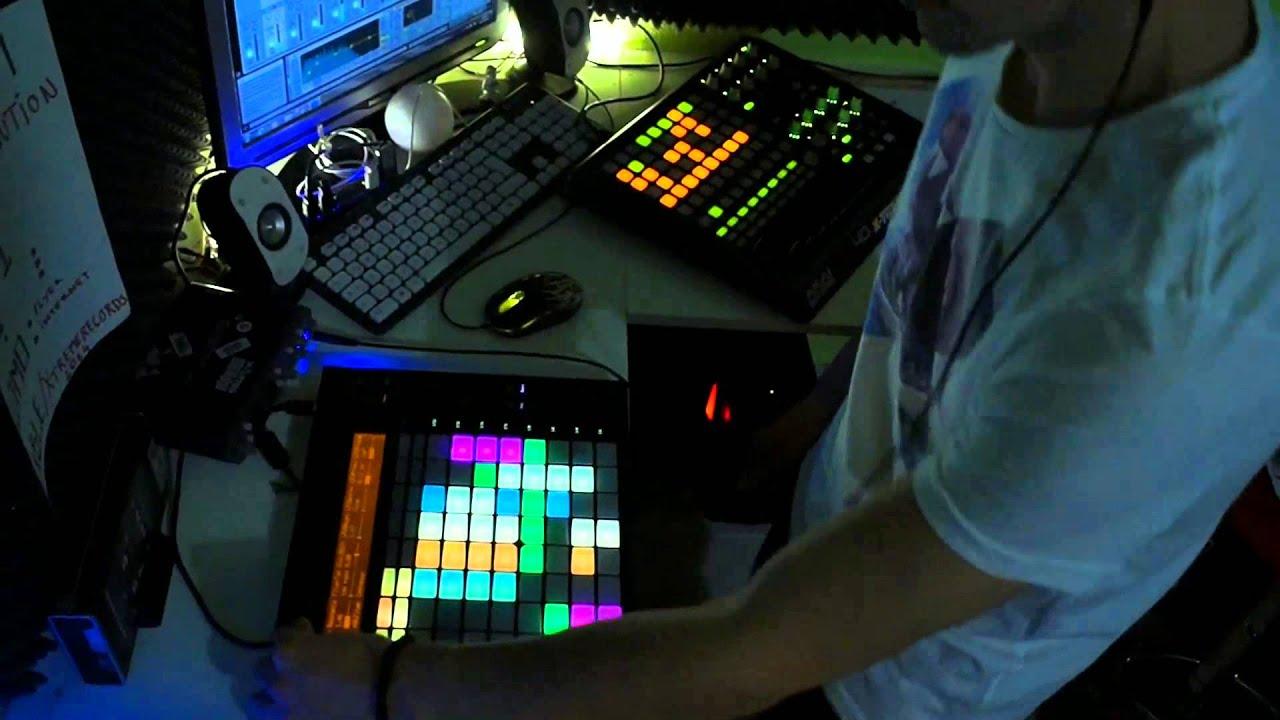 Alex X Treme Night live session 6 deep house Ableton Push