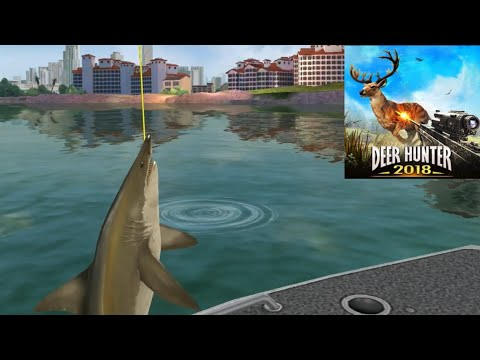Fishing Shark! Deer Hunter 2018 Ep20