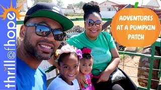 ADVENTURES AT A PUMPKIN PATCH! [FAMILY VLOG CHANNEL, VLOG CHANNEL, VLOGS]