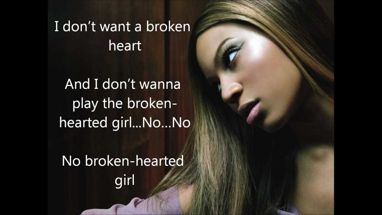 Dating a broken hearted girl