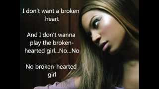 [Lyrics] Beyoncé - Broken hearted girl