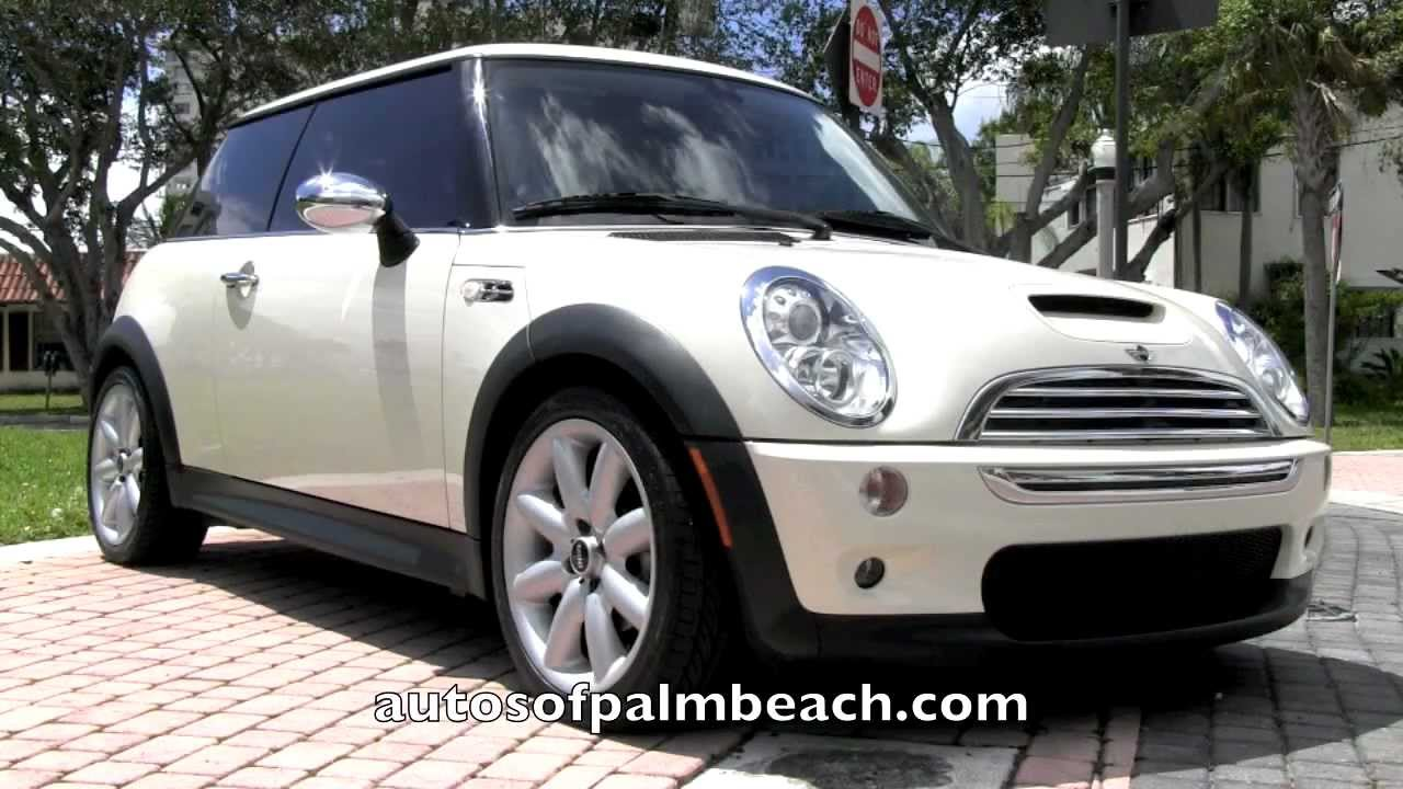 White Mini Cooper >> 2006 Mini Cooper S Pepper White Autos of Palm Beach A2818 - YouTube