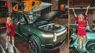 Exclusive Look at Rivian's ELECTRIC Truck & SUV + Chatting With CEO RJ Scaringe!