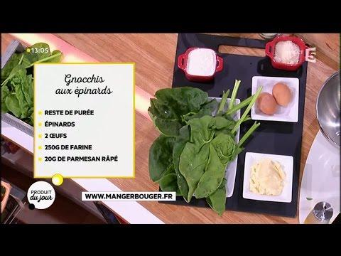 recette-:-gnocchis-aux-épinards