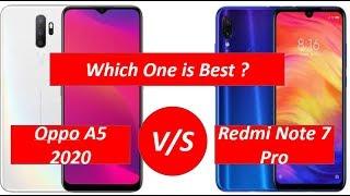 Oppo A5 2020 Vs Xiaomi Redmi Note 7 Pro || Comparison || By Mobile Comparison Master