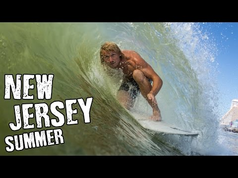 Summertime Surfing in New Jersey