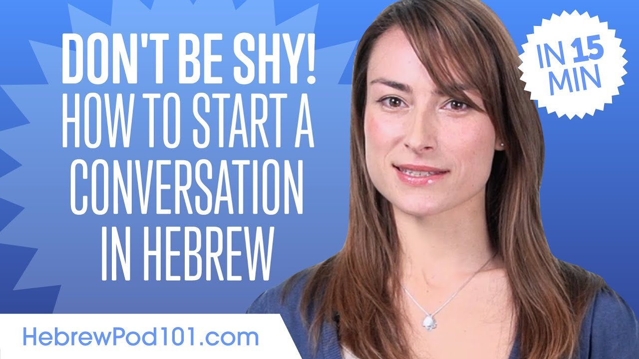 How to start a conversation with a quiet girl