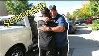 SURPRISING MY DAD WITH HIS DREAM TRUCK!!