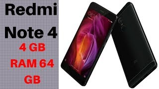 RedMi Note 4 Black, 64 GB, 4 GB RAM | Unboxing & detailed review | Sep 2017