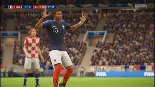 France vs Croatia -  2018 FIFA World Cup Final  - 15/07/18 - FIFA 18