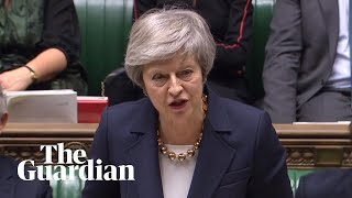 Theresa May opens main Brexit debate after Commons defeats – watch live