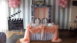 оформление персиковой свадьбы 23 июля 2016 отель