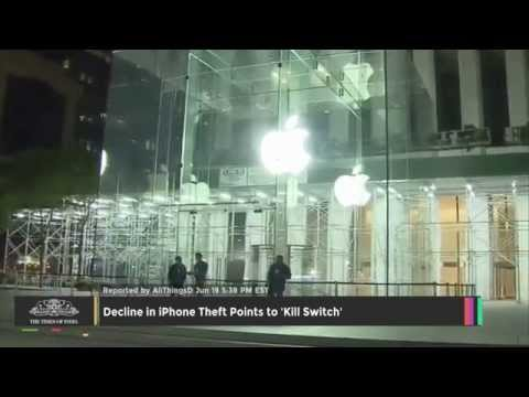 Decline In IPhone Theft Points To 'Kill Switch' - TOI