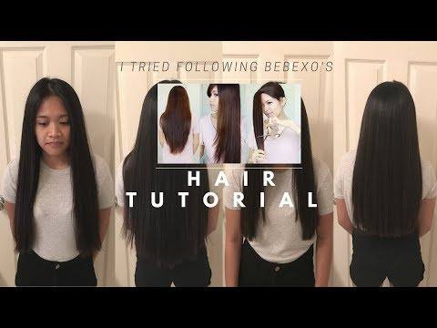 I CUT MY FRIENDS HAIR! I Tried Following a BEBEXO Hair Cutting Tutorial! **FUNNY
