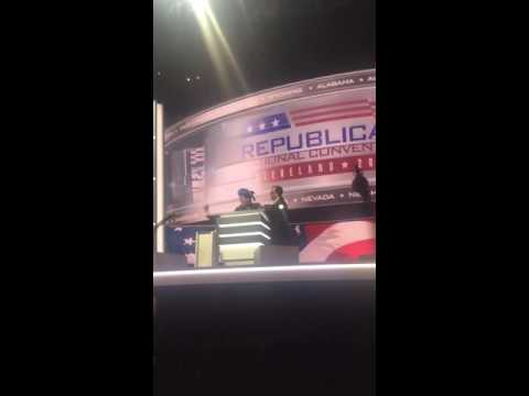 Stephen Colbert Hijacks Mic at RNC