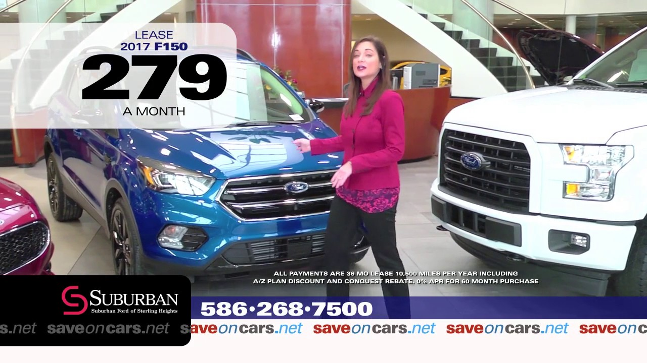 Suburban Ford Of Sterling Heights Auto Show Bonus Cash January