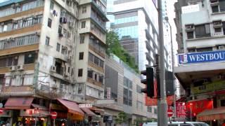 2017 香港自由行 - 旺角Lodgewood 薈賢居酒店步行至A21機場公車亞皆老街上車站往機場
