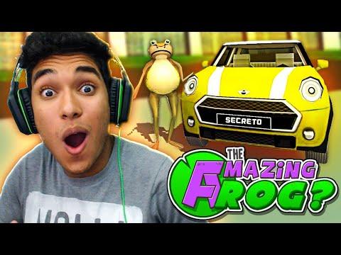 ENCONTREI UM CARRO SECRETO !! ( Amazing Frog )