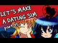 ♥LET'S MAKE A DATING SIM♥ - Part 45, Day 12 (RPG Maker MV)