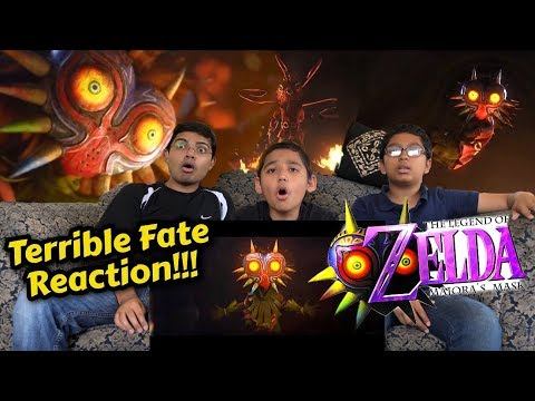 Legend of Zelda - Majora's Mask - Terrible Fate REACTION and DISCUSSION!!