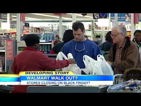 Walmart Black-Friday Walkout: Workers Protest Labor Practices Threaten Big Shopping Day