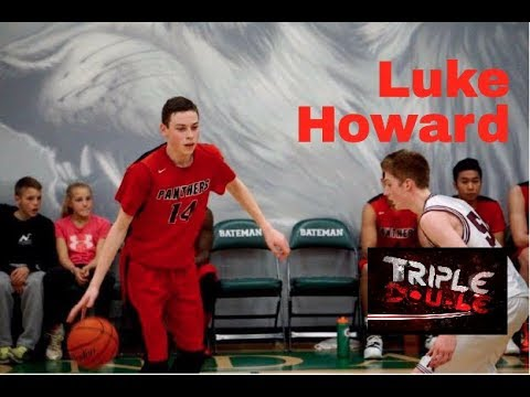 6'9 SF Luke Howard is a Matchup Nightmare!!  Class of 2019!
