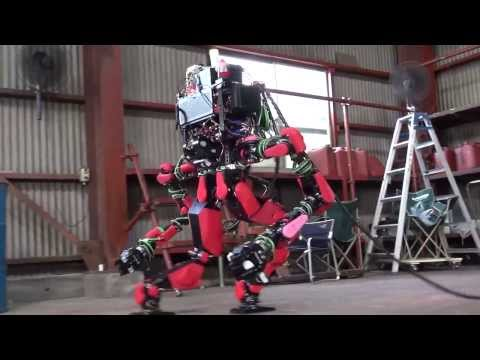 SCHAFT : DARPA Robotics Challenge 8 Tasks + Special Walking