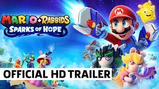 Mario + Rabbids: Sparks Of Hope Cinematic Trailer   Ubisoft Forward 2021   E3 2021